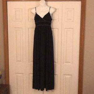 EUC Max Studio black maxi dress